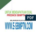 Soal SBMPTN 2014 TKPA Kode Soal 634