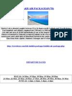 LADAKH AIR PACKAGE(6N/7D)