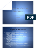 The Architecture of Virtual Machines