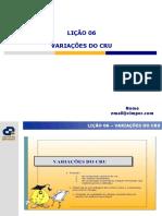 Licao 6_Variacoes Do Cru