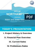 Northampton Water and Sewer Rate Study 1/21/2016