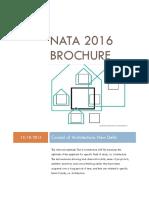NATA 2016 Brochure