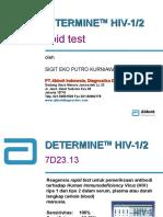 Abbott Determine HIV