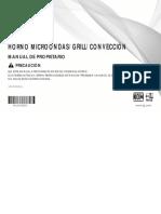 Manual Hotno de Conveccion LG