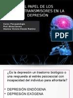 PAPEL DE LOS NEUROTRANSMISORES EN LA DEPRESIÓN.pptx