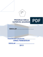 PROGRAM KERJA Supervisi Akademik.doc