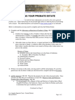 Closing Your Probate Estate Instructions