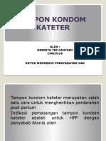 Tampon Kondom