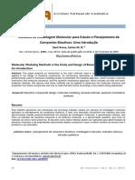 Artigo Modelagem Molecular de Compostos Bioativos