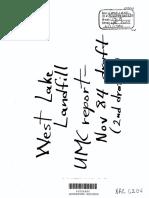 University of Missouri 1984 Evaluation of West Lake folded into NRC 88 report.pdf