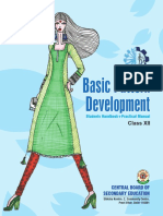 Basic Pattern Development (Textbook + Practical Manual) XII