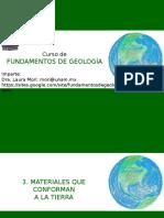 03. Materiales Que Conforman a La Tierra Parte I