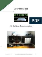 LiFePO4 DIY ESS - Kit Building Documentation
