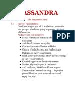 Cassandra [Script]