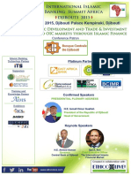 International Islamic Banking Summit Africa 2015 - 2nd Brochure