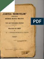 Cartea Secretelor Ploesti 1925
