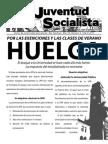 Huelga, Boletín #4, Abril 2010