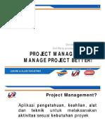 Project Management (SCRUM)