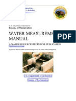 USBR Water Measurement Manual Ch7