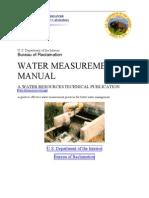 USBR Water Measurement Manual Ch7