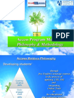 Introduction Into Access Program Philosophy & Methodology, ToT, 12.12.2015