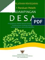 Modul 1 Panduan Pelatih Pendampingan Desa Kemendesa Pdtt Penyegaran 280815