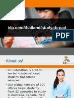 IDP Thailand  Power Point Presentation
