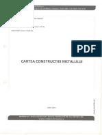 Cartea constructiei metalului