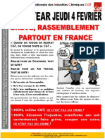 GREVE ET RASSEMBLEMENT PARTOUT EN FRANCE.
