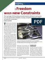 Desktop Engineering - Design Freedom With New Constraints