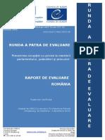 RAPORT Greco Evaluarea Romaniei, etapa IV (2015)