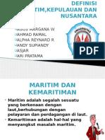 DEFINISI MARITIM,KEPULAUAN DAN NUSANTARA.pptx