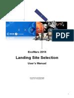 ExoMars LSS User Manual