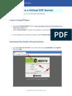 TRBOnet Configuring Virtual SIP Server v1