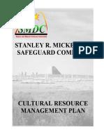 Cultural Resource Management Plan 2003(1)