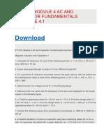 Et1210 Module 4 Ac and Capacitor Fundamentals Exercise 4.1