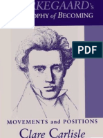 (Suny Series in Theology and Continental Thought) Clare Carlisle-Kierkegaard's Philosophy of Becoming_ Movements and Positions -State University of New York Press (2006)