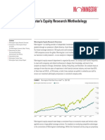 Morningstar Equity Research Methodology Guide Final