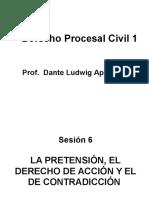 Sesión 6 - derecho procesal civil