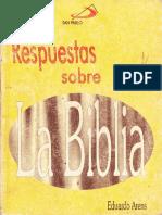 ARENS, E. - Respuestas Sobre La Biblia - San Pablo, 1995