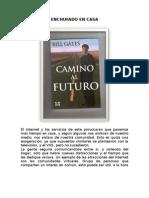 ENCHUFADO EN CASA CAMINO AL FUTURO