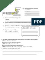 Ficha Gramatica Portugues