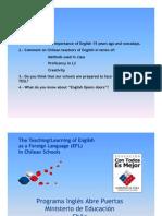 Presentacion Nº1 Inglés abre puertas