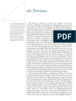 Felsch - Der Leser Als Partisan