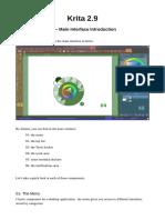 Krita Interface Introduction