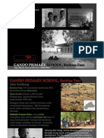 Gando School Burkina Faso