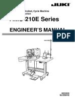 Instruction Manual Juki AMS-210E