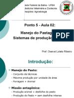Ponto 5 - Aula 02 - Sistemas de Produção a Pasto