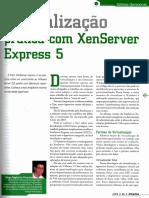 Revista PC&CIA 86 - Virtualização Prática Com XenServer Express 5001