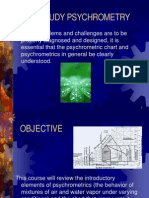 Psychrometric Course